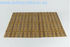 Бамбукова підставка плетена