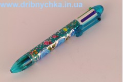 """Ручка багатоколірна """" Троянди """""""