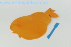 Дошка для пластиліну ( груша ) + стік