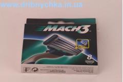 Змінні касети Gillette Mach 3