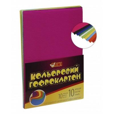 Папір гофрований кольоровий